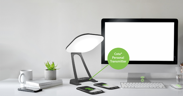 Cota Personal Desk Lamp Transmitter & Phone Sleeve